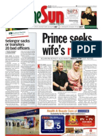 thesun 2009-07-06 page01 prince seeks wifes retrun