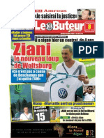 LE BUTEUR PDF du 08/07/2009