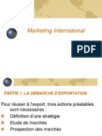 Marketing Internationnal