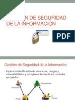 Gestión de Seguridad de la Información y Gestión de Continuidad