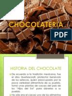PPT DE CHOCOLATERÍA