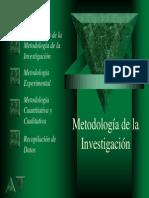 Metodología de la Investigación