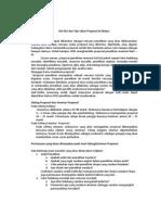 Kisi-Kisi Dan Tips Ujian Proposal & Skripsi.