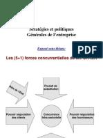 Stratégies et politiques Les (5 +t 1) forces concurrentielles de M.PORTER
