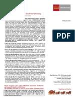 Wells Fargo paper on spectrum