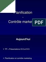 Planification Et Controle Marketing