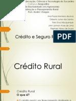 Apres. Credito Rural
