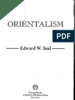 Said, Edward - Orientalism