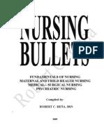 Nursing Review Bullets