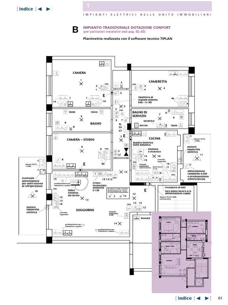 Schema Elettrico Jack 3 5 : Bticino impianti elettrici guida al residenziale 2
