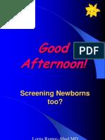 RA 9288 Newborn Screening Act