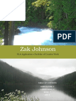 Zak Johnson's Portfolio of Creative Work