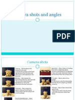 Camera Angles And Shots Pdf