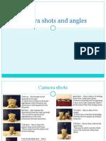 Media - Camera Shots and Angles