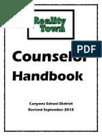 counselor handbook