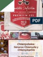 Chlamydiales Géneros Chlamydia y Chlamydophila 2011