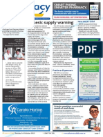 Pharmacy Daily for Tue 01 Oct 2013 - Di-Gesic supply warning, CHC