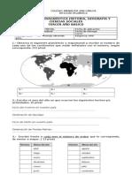 Evaluación Diagnóstica Historia 3ro años
