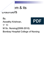 GI System and its disorders (Nurses perspective)