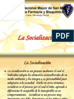 2 La Socializacion Segunda Clase Farmacia