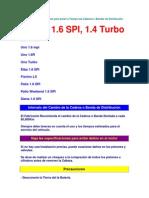 Diagramas y Esquemas para poner a Tiempo las Cadenas o Bandas de Distribución