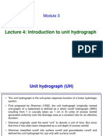 Introduction to Unit Hydrograph