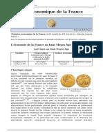 Histoire Economique France