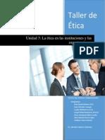 Unidad 3 - Etica