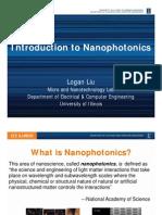 Introduction to Nanophotonics