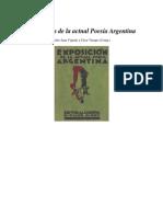 Exposición de la actual Poesía Argentina