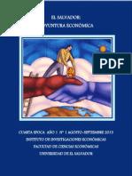 Coyuntura Económica El Salvador Agosto-Septiembre 2013