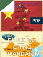 El Idioma Chino Mandarin