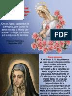 Oraciones propias de la Virgen María