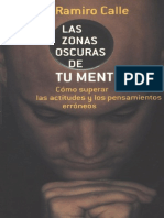 Libro Ramiro Calle Las Zonas Oscuras de Tu Mente