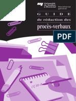 Guide Proces Verbaux