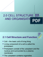 2.1 Cell Structure and Cell ion
