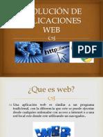 Evolucion de Aplicasiones Web
