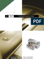 Manual HP 2500C