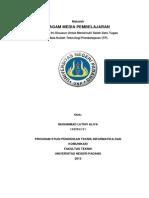 Makalah - Ragam Media Pembelajaran (Teknologi Pendidikan).docx