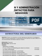 CREACIÓN Y ADMINISTRACIÓN DE CONTÁCTOS PARA NEGOCIOS