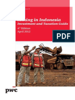 Mining Investment and Taxation Guide 2012