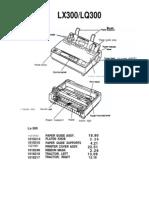 User Replaceable Parts List (Lx300_rp)