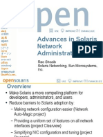 Advances in Solaris Network Administration