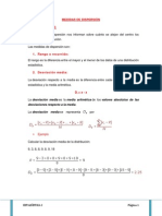 Medidas de Dispersion Final