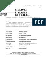 FIGLIOLI E PIANTE DI PAOLO...no 116 Settembre 2013