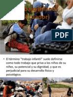 Trabajo Infantil Ecuador EJE TEMATICO