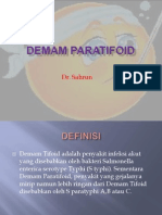 DEMAM-PARATIFOID