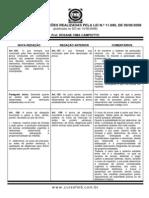 Processo Penal 2008 Alterações - quadro da alteração legislativa - teoria da prova-2