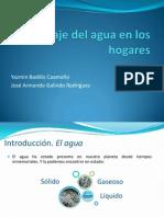 """taller 5 Do not let them die! Publicado por YAZMIN BADILLO CAAMA""""O_Reciclaje del agua en los hogares"""