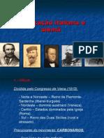 Unificação italiana e alemã